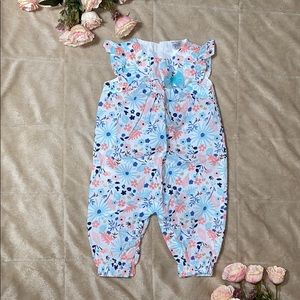 Baby girl jumpsuit size 3 months